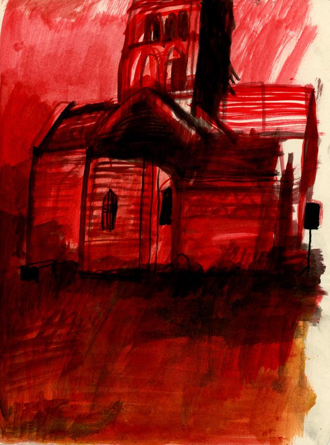L'église de Suin